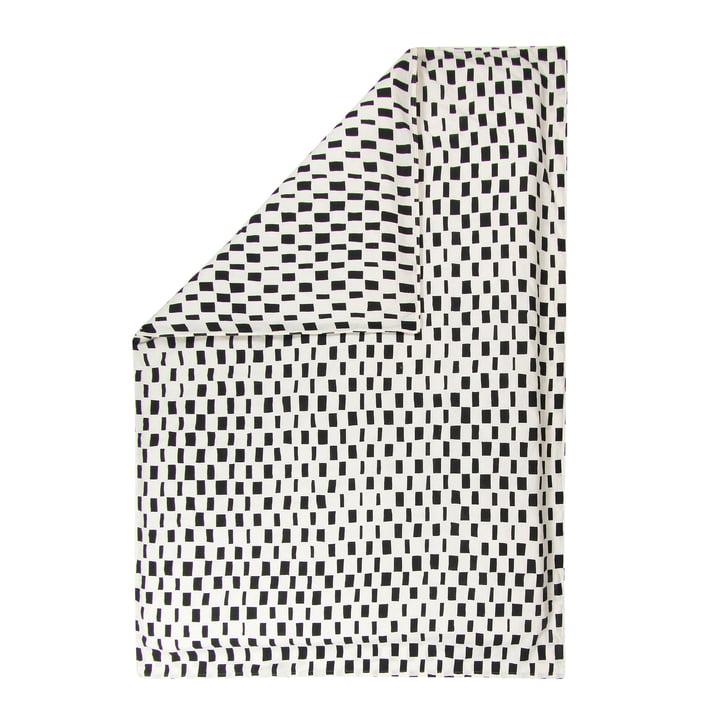 Cache-plafond Iso Noppa de Marimekko en blanc cassé / noir