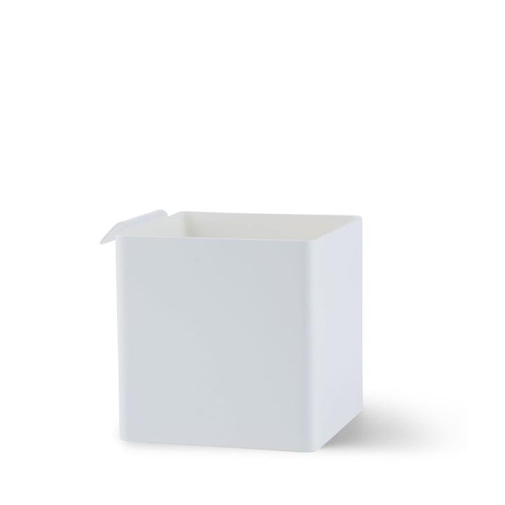 Flex Box petit, 105 x 105 mm en blanc par Gejst