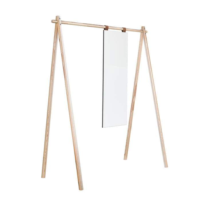 Armoire Hongi avec miroir dans la nature par Karup Design