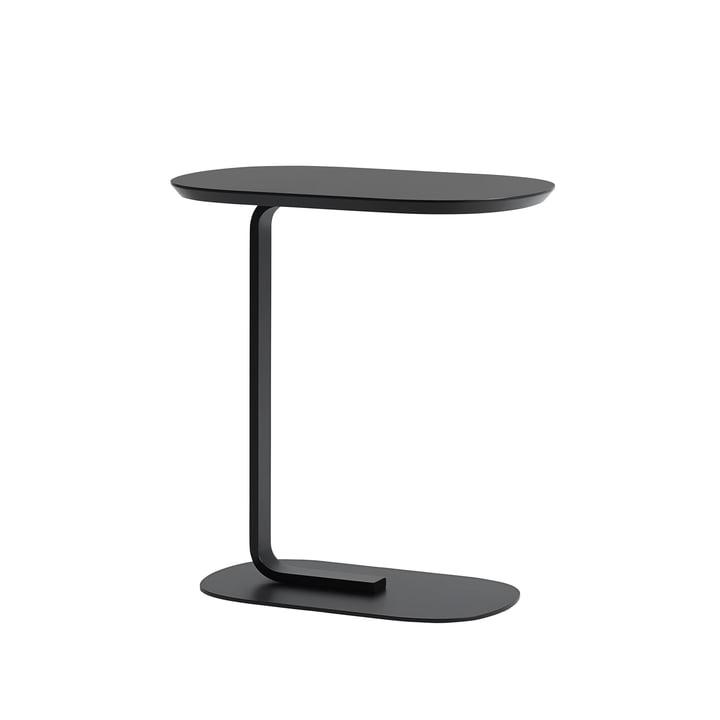 Table d'appoint Relate en noir par Muuto