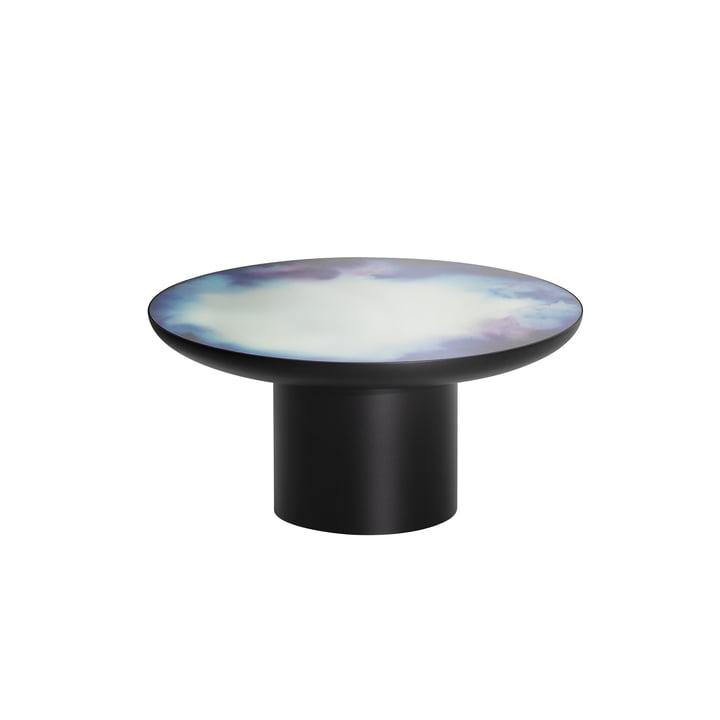 Table basse Francis Ø 75 x H 36 cm de Petite Friture en noir / bleu et violet