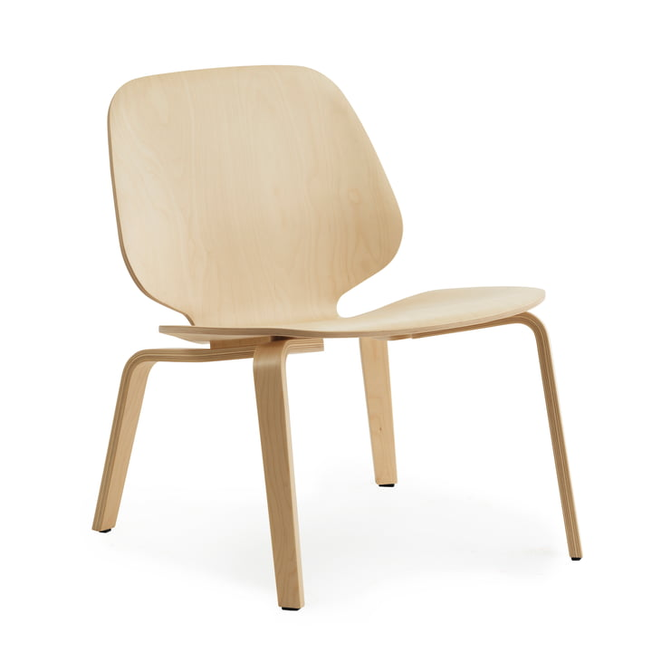 Ma chaise Lounge in Birch de Normann Copenhagen