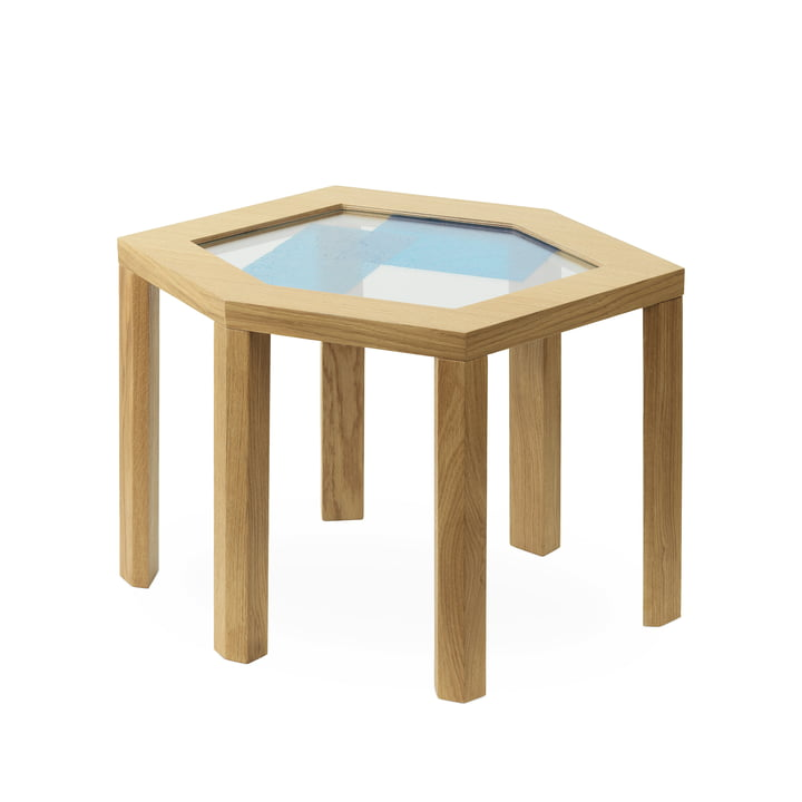 Table d'appoint Collins en chêne par Normann Copenhagen
