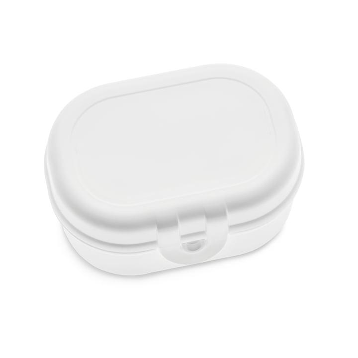 Pascal Mini Lunchbox, coton blanc par Koziol