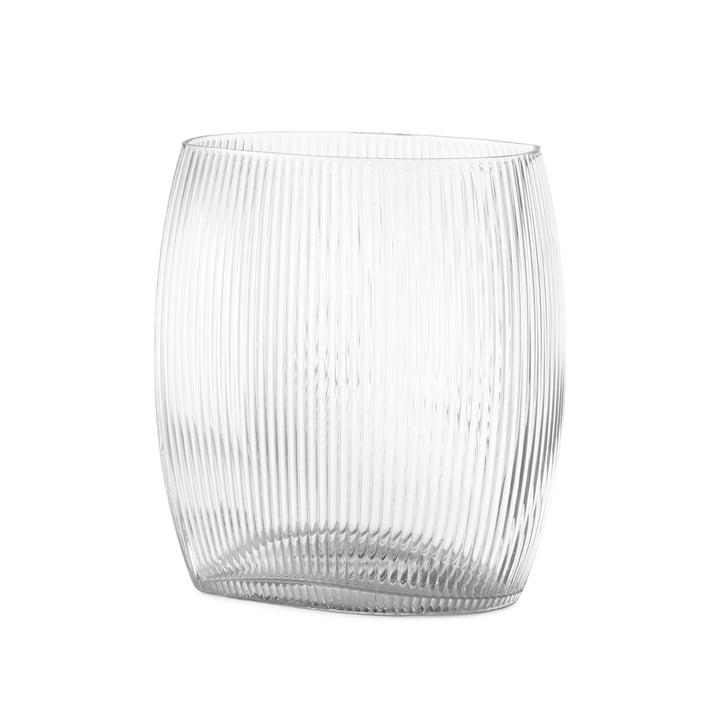 Vase de marée H 18 cm en clair par Normann Copenhagen