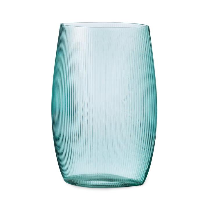 Vase à marée H 28 cm en bleu par Normann Copenhagen