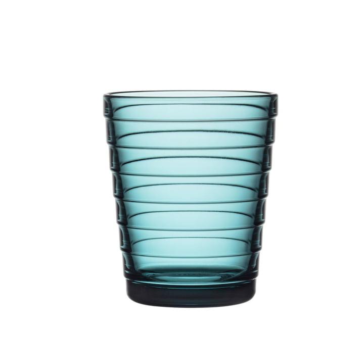 Coupe en verre Aino Aalto 22 cl d'Iittala en bleu marine