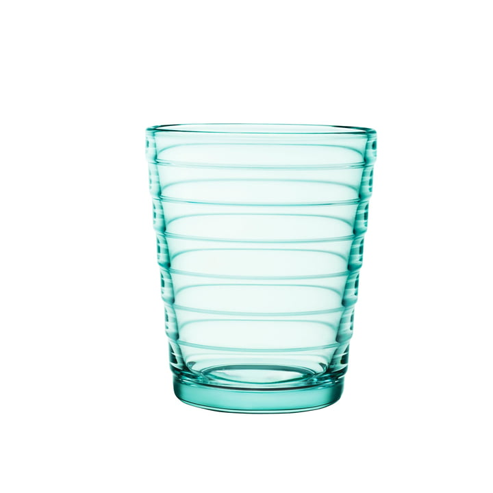 Coupe en verre Aino Aalto 22 cl d'Iittala en vert d'eau