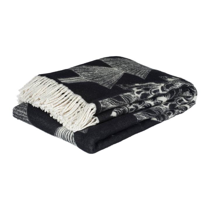 Tapis Kuusikossa 130 x 170 cm de Marimekko en noir / blanc