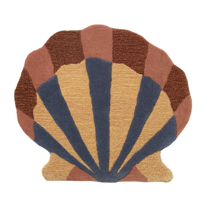 "Chambre d'enfant / tapisserie ""Shell"" par ferm Living in multi"