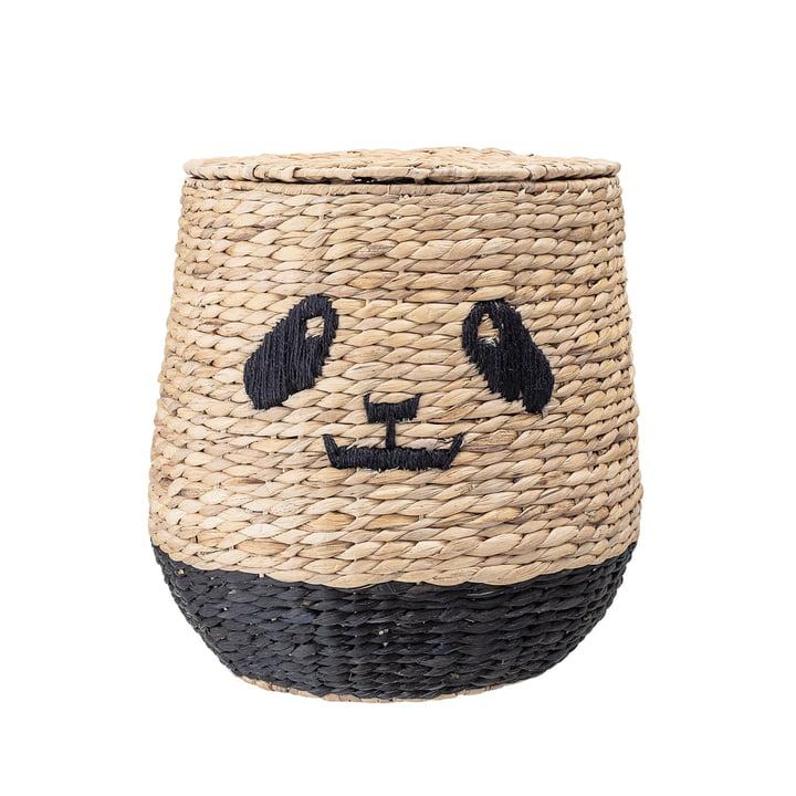 Panier de rangement Panda avec couvercle de Bloomingville
