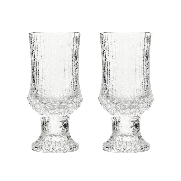 Verre à vin blanc Ultima Thule avec pied 16 cl (ensemble de 2) par Iittala
