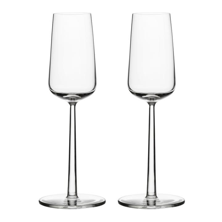 Verre à champagne Essence 21 cl (set de 2) d'Iittala