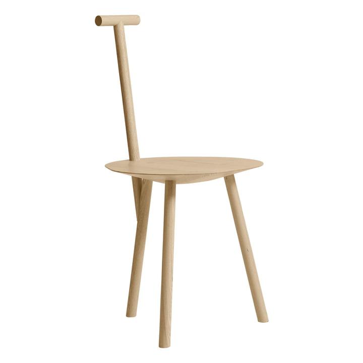 Chaise Spade en Frêne par Veuillez attendre d'être assis