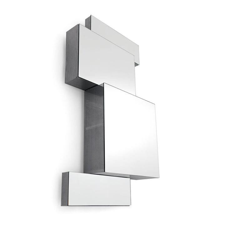 Armoire de toilette Ba.Belle, H 35 cm en acier inoxydable par Opinion Ciatti
