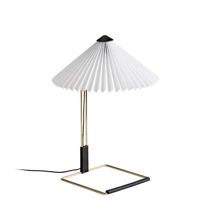 Lampe de table Matin LED S, blanc par Hay