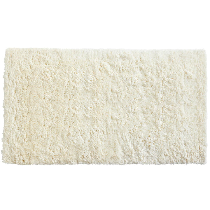 Tapis Shaggy, 240 x 170 cm en crème par Hay
