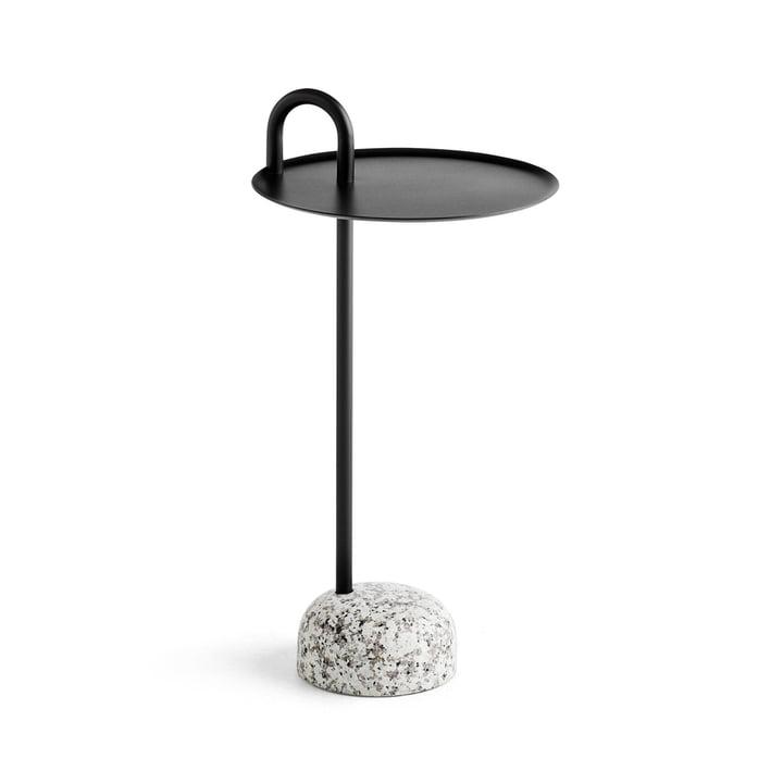 Table d'appoint pour quilleur, Ø 36 cm / H 70,5 cm en noir par Hay