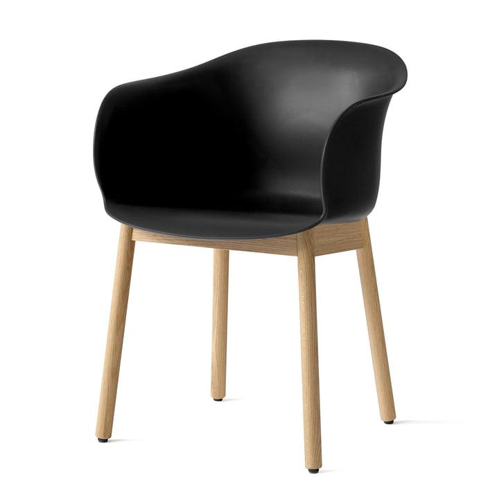 Chaise Elefy JH30 en chêne / noir par & tradition