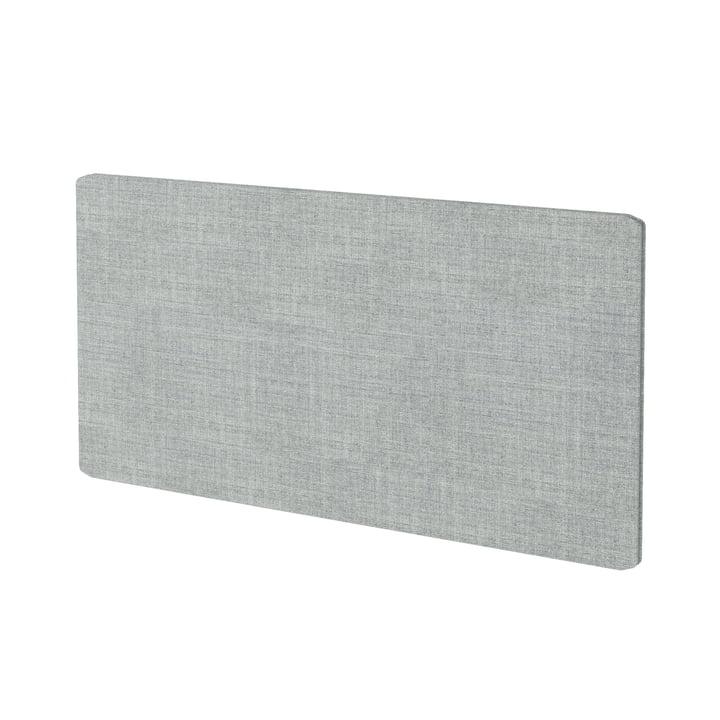 Panneau textile pour rayonnage Montana Free en Kvadrat Remix 2 (123 gris)