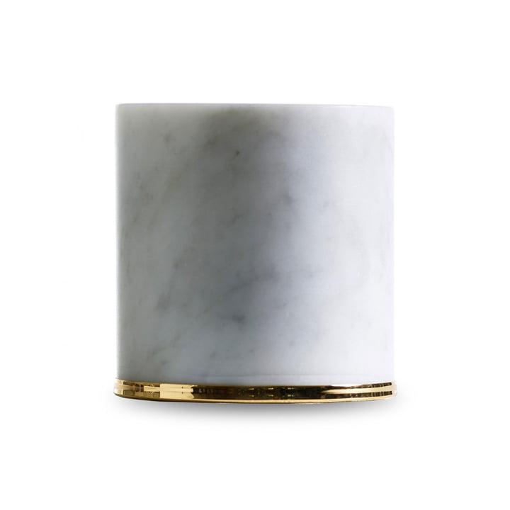 Butée de porte Fermaporte Opinion Ciatti en blanc / or