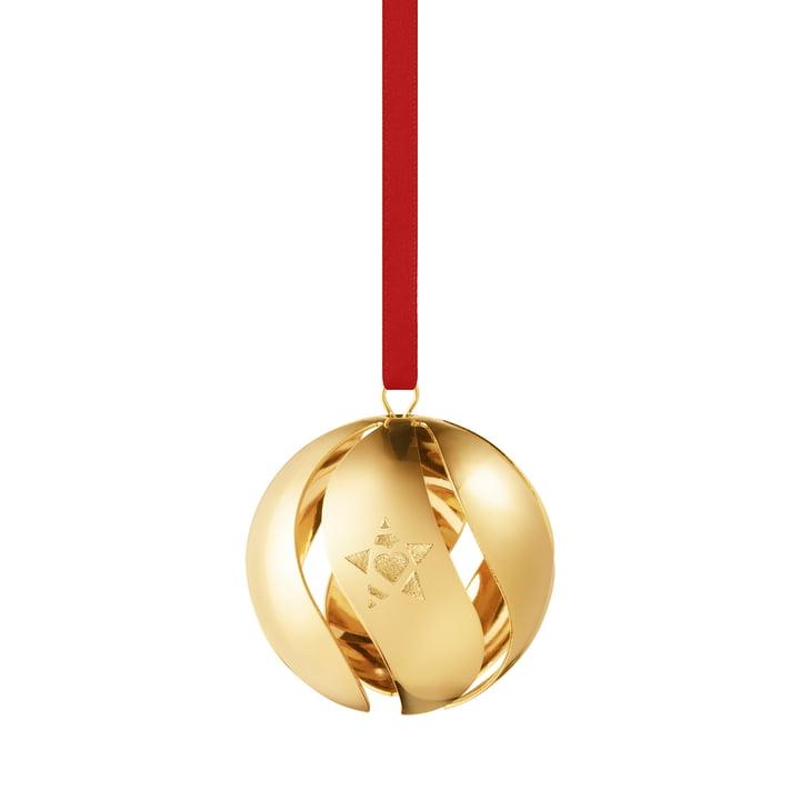 Boule de Noël 2019, or de Georg Jensen