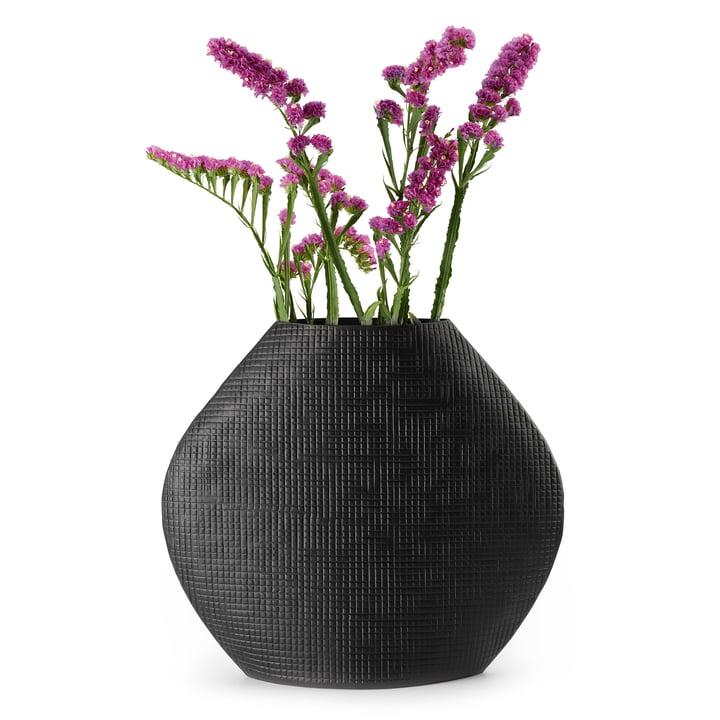 Vase Outback L en noir par Philippi
