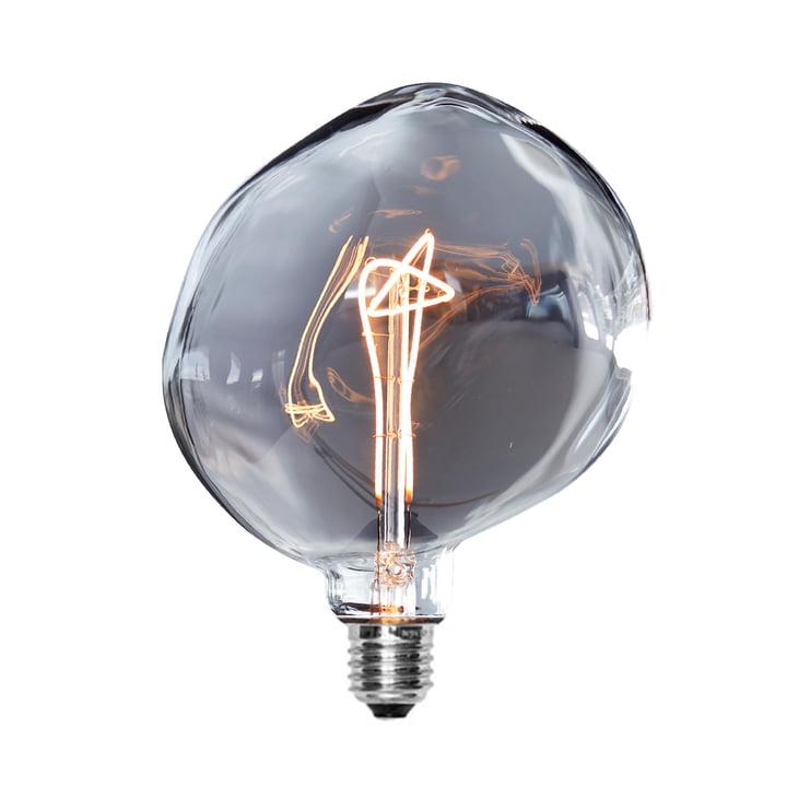 Eclairage LED-Rock Ø 160 mm, E27 / 3 W, gris foncé par NUD Collection