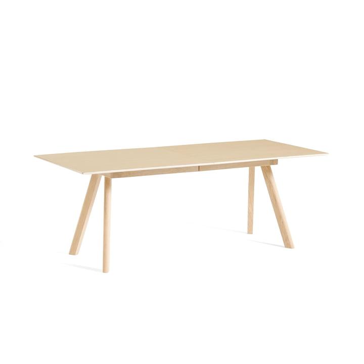 Foin - Copenhague CPH30 table à rallonge, L 160/310 x l 80 x H 74 cm, chêne laqué mat