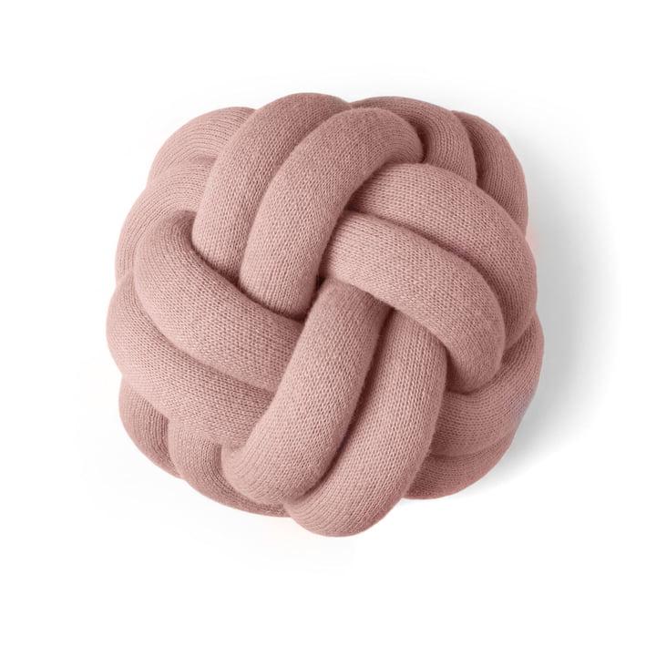 Coussin de noeuds en rose poussiéreux par Design House Stockholm