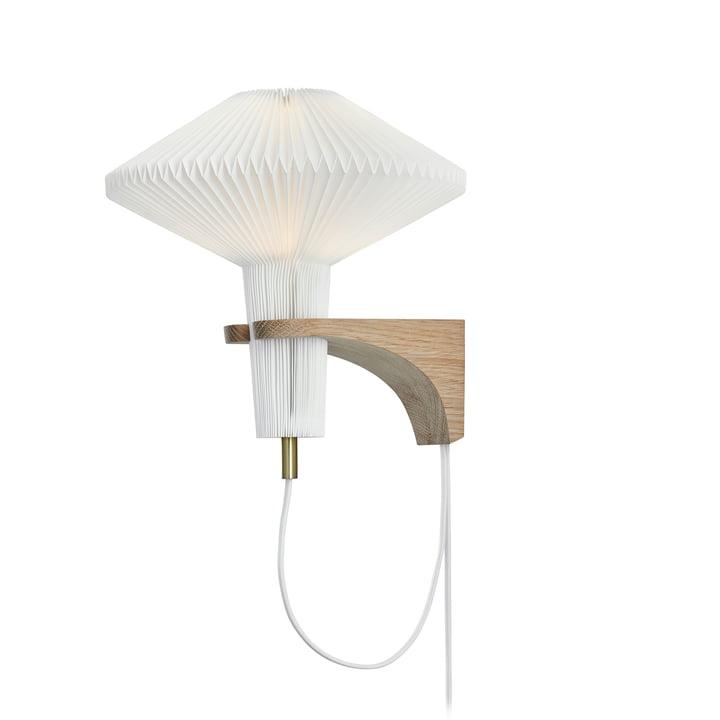 """204 Applique """"The Mushroom"""" de Le Klint en chêne / blanc"""