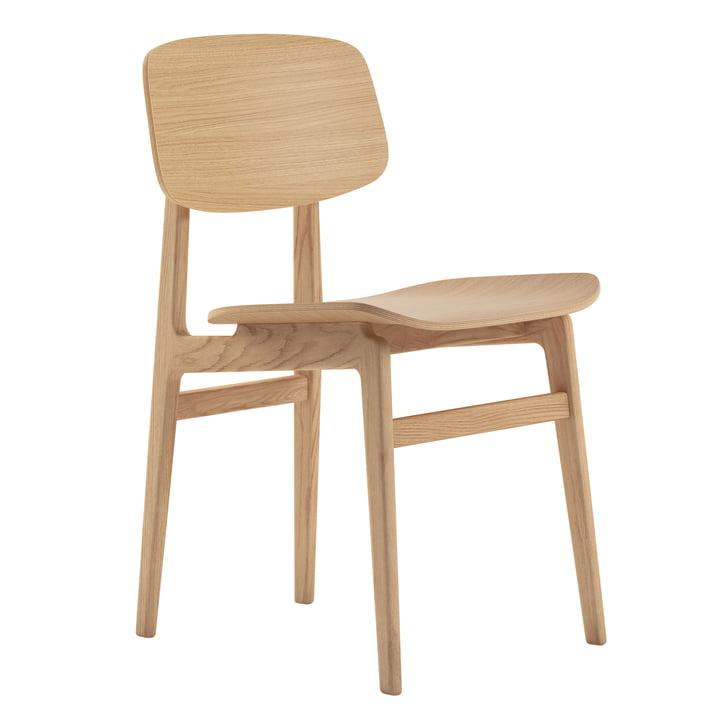 NY11 Chaise de salle à manger par Norr11 en chêne naturel