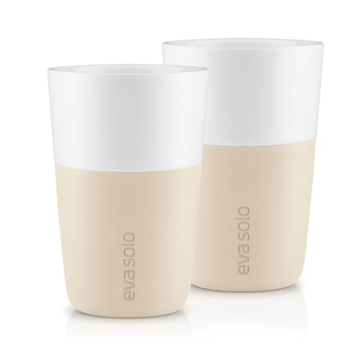 Tasses Caffé Latte (lot de 2) par Eva Solo en bouleau
