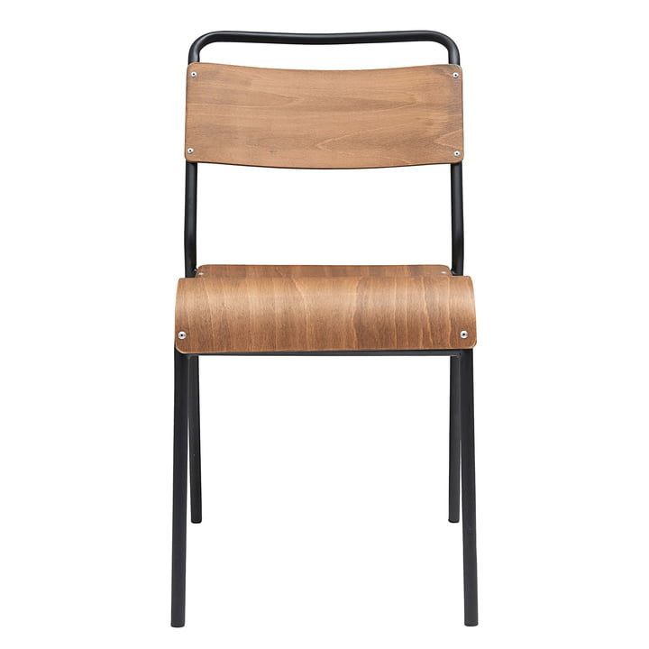 Chaise originale de House Doctor en marron