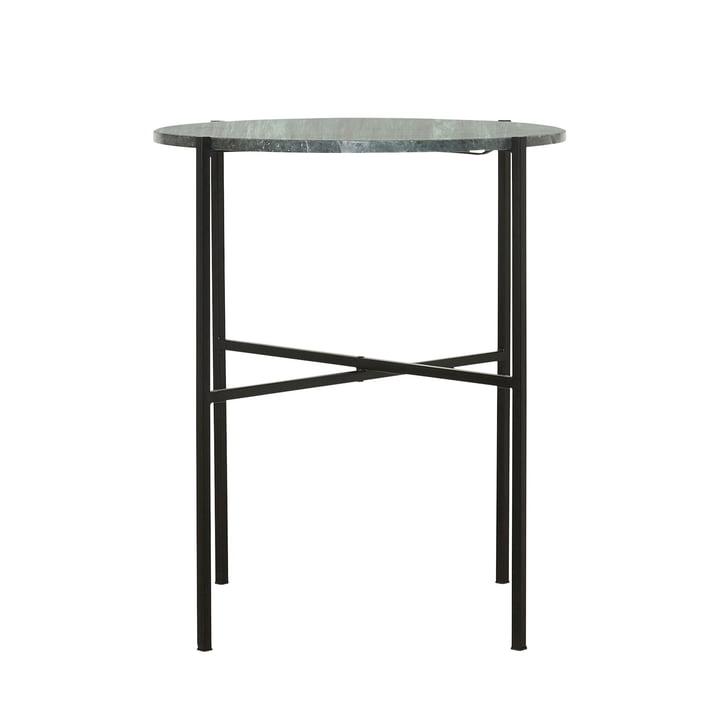 La table d'appoint verte Ø 45 x H 55 cm par House Doctor en marbre vert