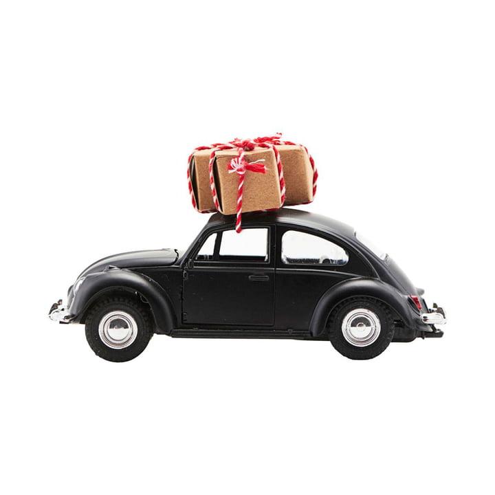 Xmas Cars Deco Cars 12,5 cm par House Doctor en noir