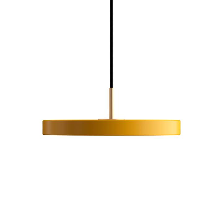 Asteria Mini lampe pendante LED de Umage couleur jaune safran