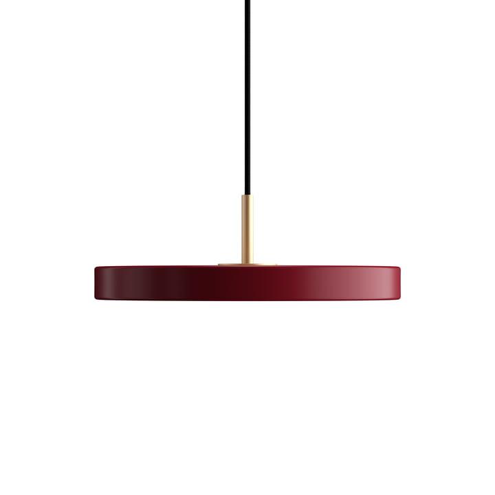 Asteria Mini lampe pendante à LED Umage en rouge rubis