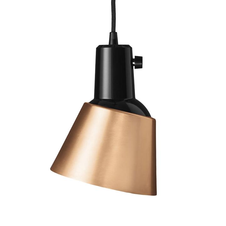 K831 Luminaire suspendu de Midgard en cuivre (plomb noir)
