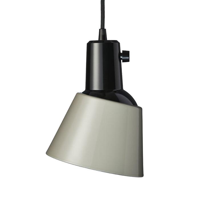K831 Luminaire suspendu de Midgard en gris béton (conduite d'alimentation noire)