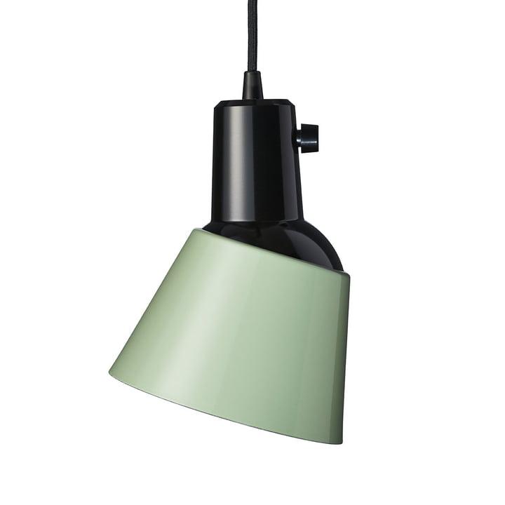 K831 Luminaire suspendu de Midgard en vert clair (câble noir)