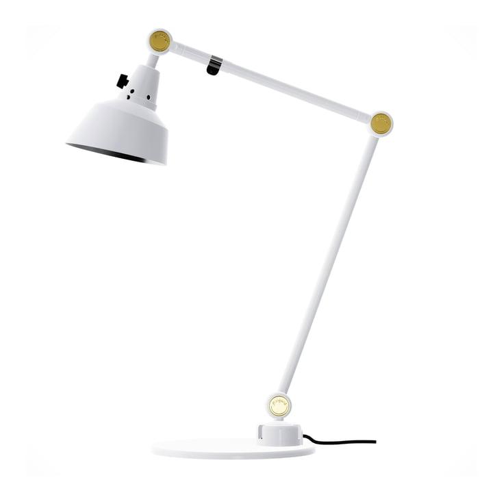 Lampe à poser modulaire 551 50/40 de Midgard avec culot à charnière en laiton