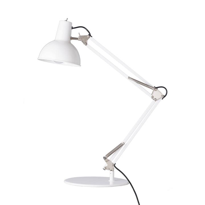 Lampe de table Midgard pour équilibreur à ressort en blanc