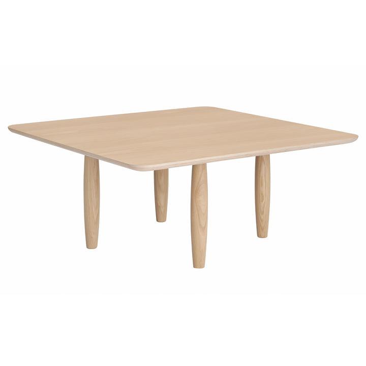 Table basse Oku Ø 80 x H 36 cm de Norr11 en chêne nature