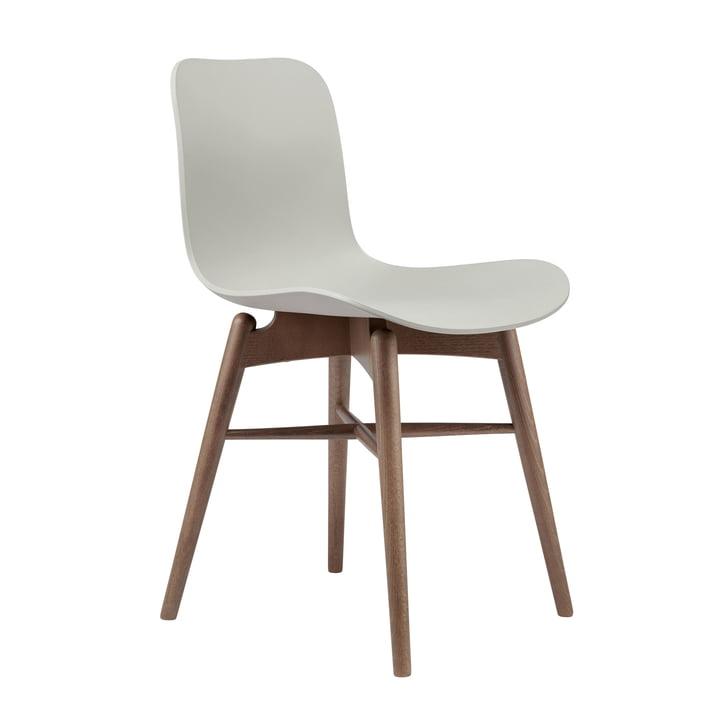 Langue Original chaise Norr11 en hêtre fumé / gris silex