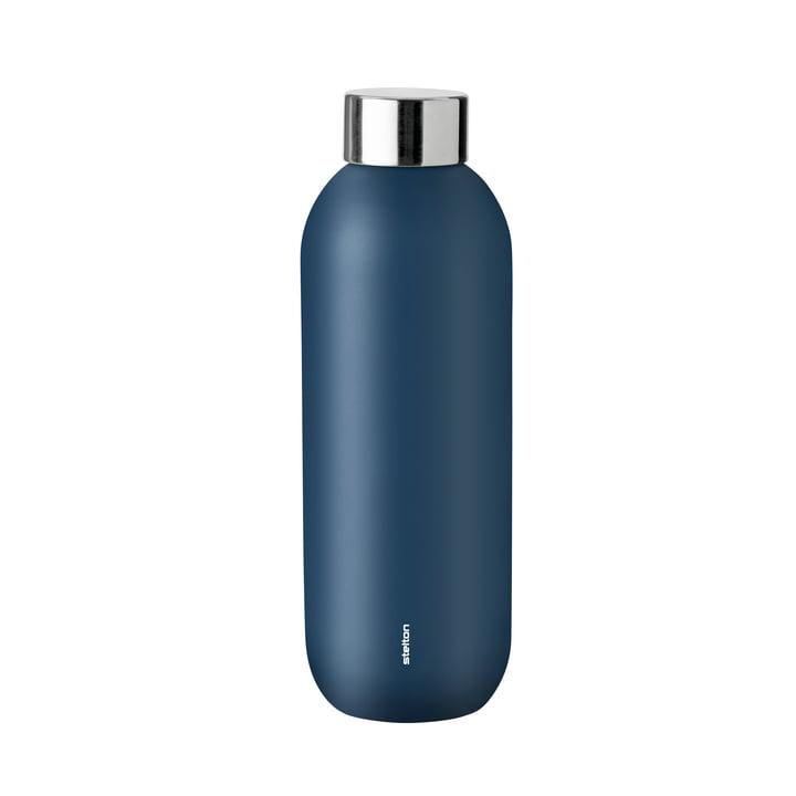Bouteille Keep Cool 0,6 l de Stelton en bleu poussiéreux