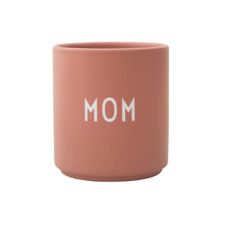 Mug en porcelaine AJ Favourite Mom de Design Letters
