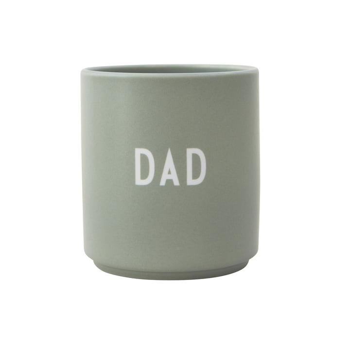 AJ Favourite Tasse en porcelaine Papa par Design Letters