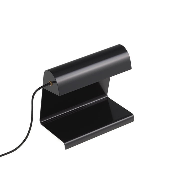 Lampe de table Lamp de Bureau Vitra en noir foncé