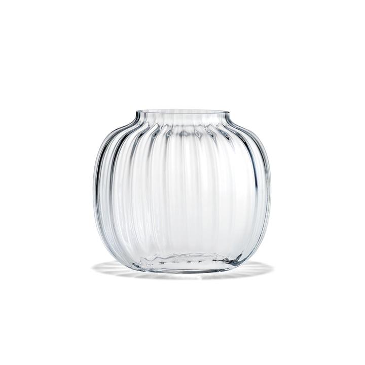 Vase Primula ovale H 12,5 cm de Holmegaard en clair